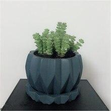 Concrete Pot Big Flowerpot Silicone Mold for Clay Molds Succlent Plants Cactus Planting Cement Mould