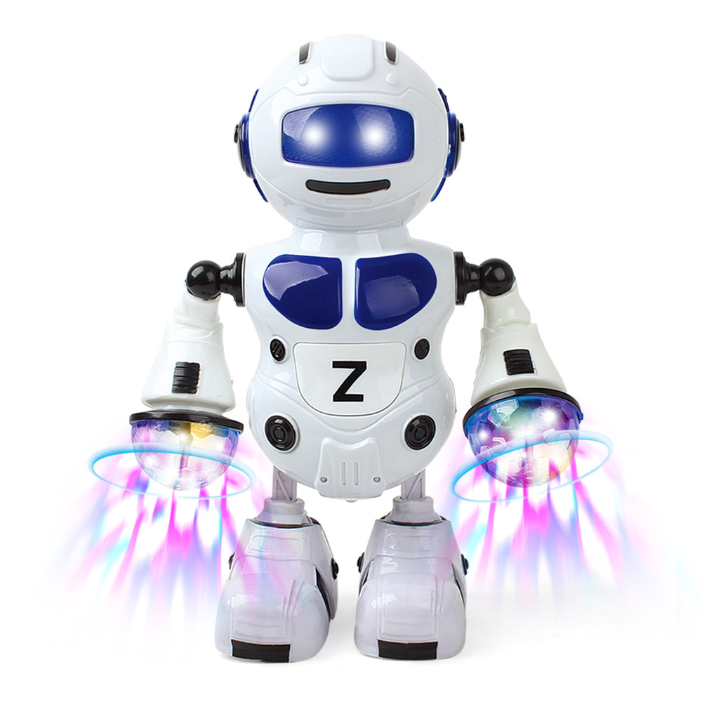 Electric Dancing Drum Robot Sound-And-Light Electric Drum Robot Educational CHILDREN'S Toy