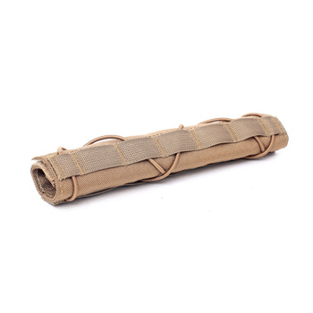 Tactical silencer bag protective cover Sniper camouflage cover outdoor shooting and hunting CS field equipment 2