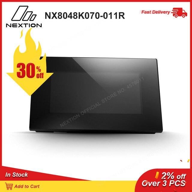 Nextion משופר NX8048K070 011R   7.0 מלא צבע LCD תצוגת HMI מגע Resistive מסך מודול מובנה RTC עם מארז