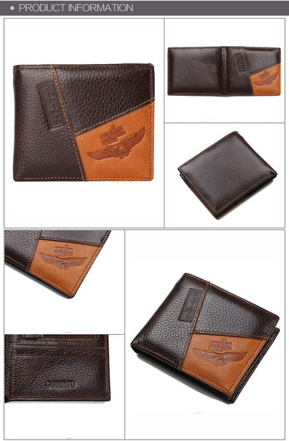 Hb64938e5a3aa4e179e525d4399992d80j - GUBINTU Genuine Leather Men Wallets Coin Pocket Zipper Real Men's Leather Wallet with Coin High Quality Male Purse cartera