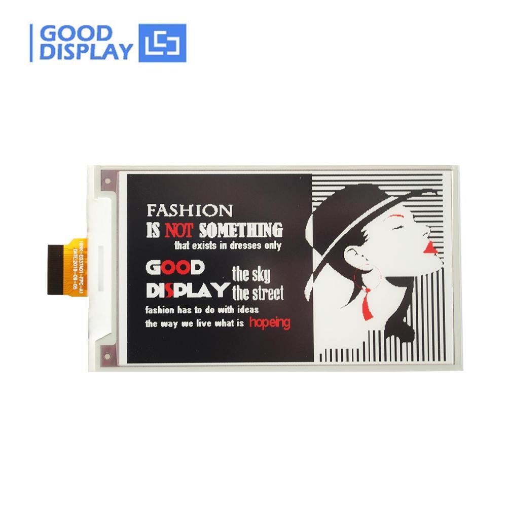 3.7 Inch E-paper Display Tri-color E-ink Screen