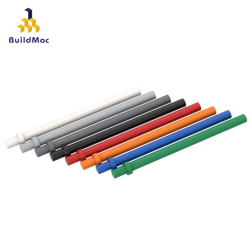 BuildMOC Compatible Assembles Particles 4095 6.6L With Stop Ring Building Blocks Parts DIY LOGO Educational Gift Toys