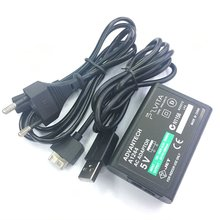 Convert-Charger Power-Adapter-Supply Usb-Data-Cable Ps-Vita PSV Sony for Eu-Plug AC
