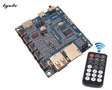 лучшая цена Bluetooth amplifier board U disk TF card playback FM radio EQ tuning 3w * 2 usb decoding  power amplifier board