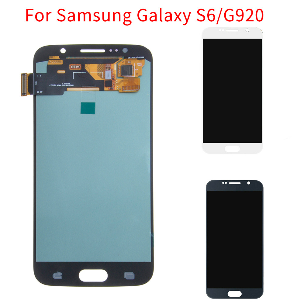 LCD <font><b>Display</b></font> Touch Screen Digitizer Assembly For <font><b>Samsung</b></font> Galaxy S6/<font><b>G920</b></font> Replacement Accessory image