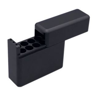 Image 2 - Antiproof 12 Holes Mini Mental Box For IQOS Cigarette For LIL Cigarette Carrying Case Cigarette Holder Box Case
