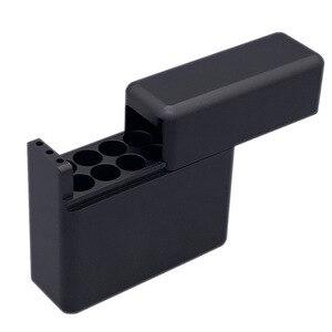 Image 2 - Antiproof 12 ثقوب البسيطة العقلية مربع ل IQOS السجائر ل الليل السجائر تحمل حالة حامل سيجار مربع حالة