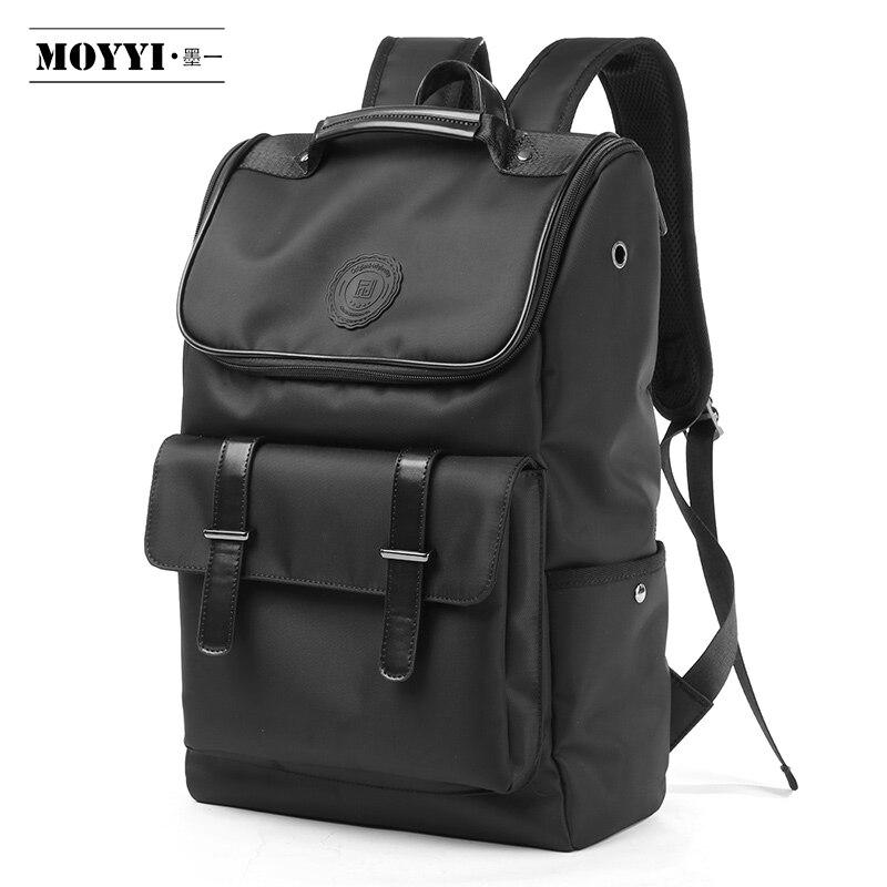 MOYYI 2019 High Quality Men Backpack Splashproof  Mochila 14inch Laptop Backpack Oxford Bag For Outdoor Travel Rucksack