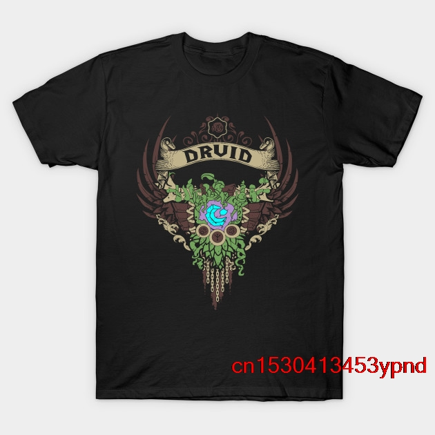 DRUID - EDITION-V2 T-Shirt Man's T-shirt Wow Tee Short Sleeve