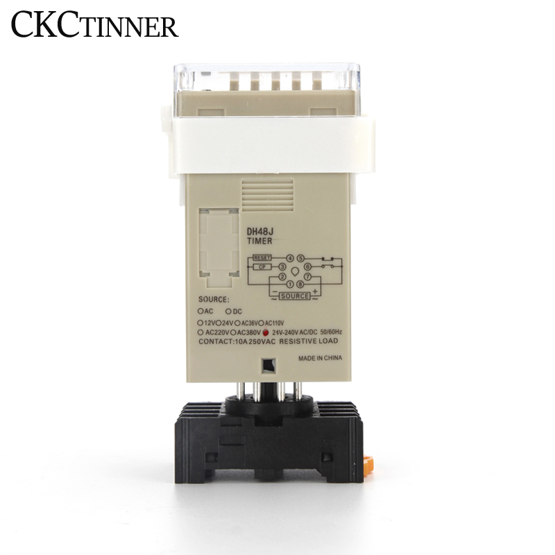 acyclic contadores 1-999900 relé 8pin com base