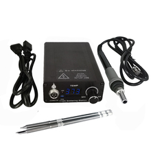 T12 75W Digital Soldering Iron StationTips Welding Rework Station  temperature adjustable control  microcontroller