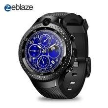 Zeblaze Thor 4 Dual Smart Horloge 4G Lte Android Quad Core 1 Gb + 16 Gb Dual Camera 1.4