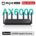 Xiaomi AX6000 AIoT Router Wifi 6 5G 2,5G Wifi6 Sicherheit VPN 6000Mbs Gigabit Rate Qualcomm Externe Signal Verstärker mi Hause