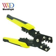 Многофункциональный инструмент плоскогубцы обжимные плоскогубцы для зачистки проводов многофункциональные Стопорные кольцевые клеммы Crimpper