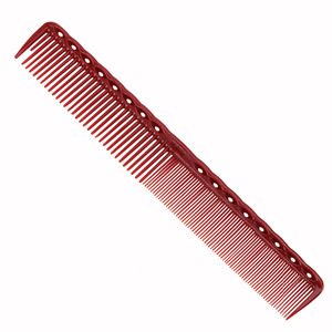 Image 5 - 4pcs/set Anti static Red Hairdressing Comb Detangling Platic Straightening Comb Barber Hair Different Design Combs Set DIY Home