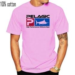 Camiseta logotipo de luxo pelágico