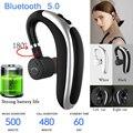 Беспроводные Bluetooth наушники один громкой связи Bluetooth гарнитура, наушники с микрофоном, бизнес-гарнитура Bluetooth для iphone, samsung, huawei, xiaomi