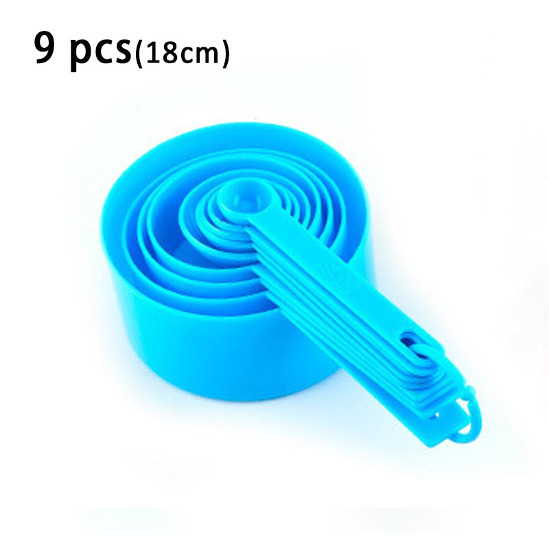 9pcs blue