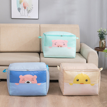 Bags Storage-Bag Home-Organizer Blanket Quilt Waterproof Printing PEVA Transverse/vertical