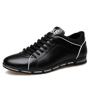Big Size 37-50 Mens Casual Shoes Fashion Leather for Men Summer Flat Drop Shipping