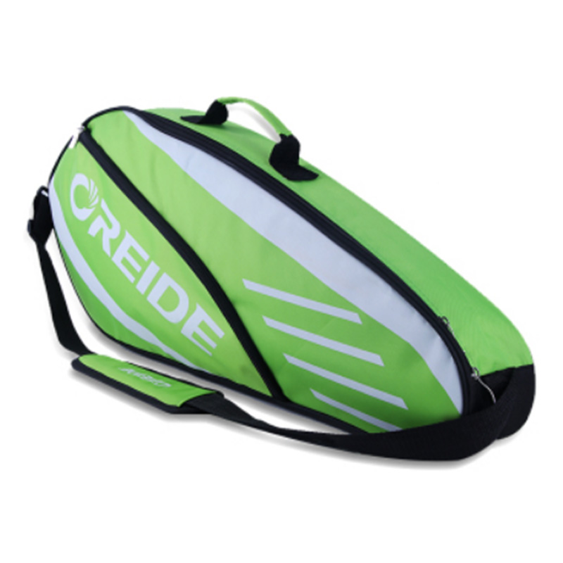 Waterproof Badminton Racket Bag For 3-6 Rackets Single Shoulder Lightweight Portable Tennis Backpack Sports Equipment Men Adults