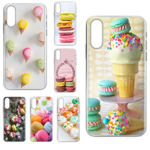 Dessert Ice Cream Laduree Macarons For Huawei Honor 10 10i 20 20i 8S lite Y9 Prime Y7 2019 Y5 2018 p40 lite pro Soft Cover Case