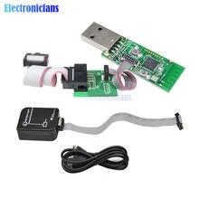 Emulador de zigbee cc-depurador usb programador cc2540 cc2531 sniffer sem fio bluetooth 4.0 módulo conector cabo downloader