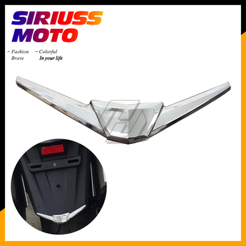 Chrome Motorcycle Rear Fender Tip Trim Case for Honda Goldwing GL1800 GL 1800 2018-2020 image