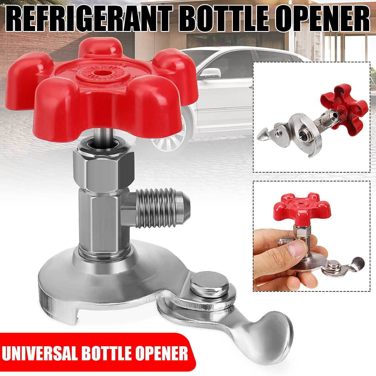 Universal Can Tap Refrigerant Bottle Opener Refrigerant Tool