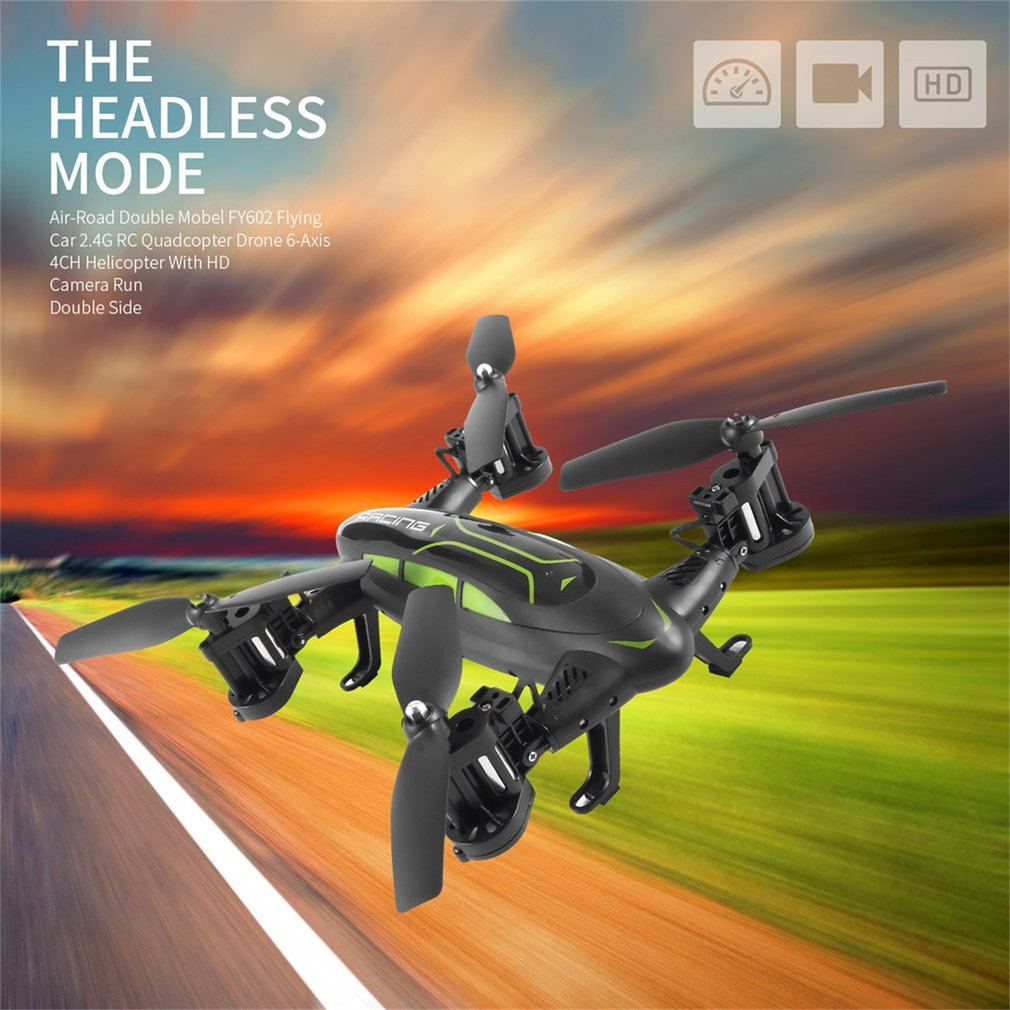 OCDAY Multifunction Mini RC Drone Kit With HD Camera 7