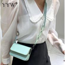 Candy Color PU Leather Crossbody Bags For Women 2020 Small Shoulder Handbag Female Summer Cross Body Chain Bag bolsos para mujer