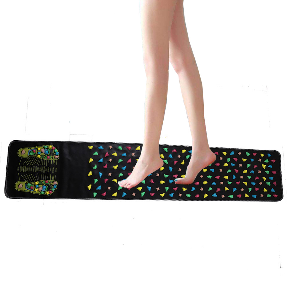 175*35CM Foot Massage Pad Chinese Health Care Reflexology Walk Stone Pain Relieve Mat Pad