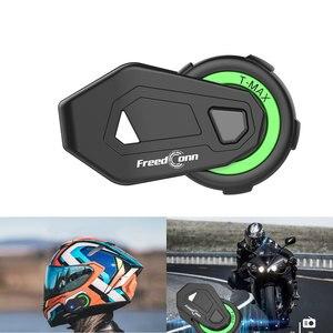 Image 1 - Nieuwe Motorfiets Bluetooth Helm TMAX M Waterdicht Moto Helmen Stereo Headsets Handsfree Hoofdtelefoon (Zonder Intercom Functie)