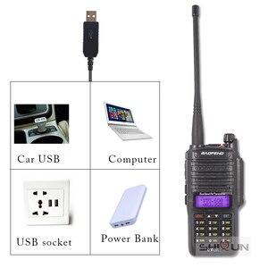 Image 3 - 8W Baofeng UV 9R IP67 Waterproof Dual Band 136 174/400 520MHz Ham Radios 10KM Baofeng 8W Walkie Talkies 10 KM UV 9R UV 82 UV XR