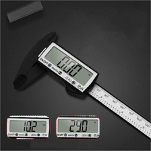 Vernier caliper 150mm touch screen caliper inner and outer diameter measurement electronic digital display plastic measure tool