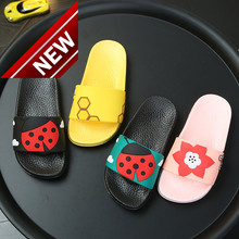 The Image Of Shenniu On Beach; Soft Pvc Boysshoes; Cute Insect Slippers; Childrens Summer Slippers Flat-bottomed Vehicle