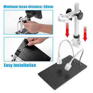 Image 4 - Andonstar AD407 7 Inch Screen 3D Digital Microscope 270X 1080P High Definition Microscope Camera Soldering Microscopes