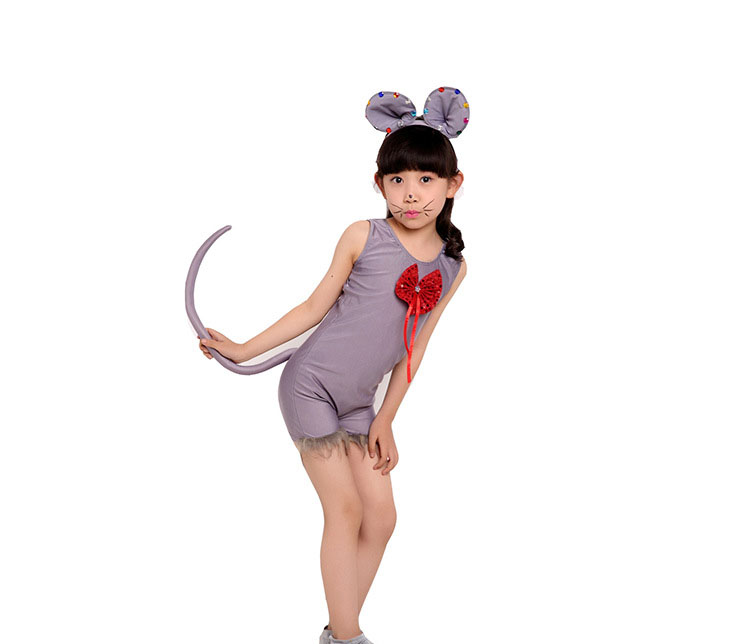 Child Costumes Kids Boys Girl Rat Mouse Cosplay Fancy Dress Animal Halloween Christmas Costume Jumpsuit