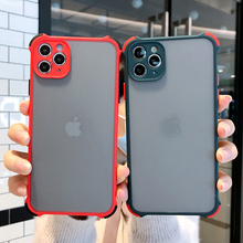 Shockproof 2 in 1 Hard PC Soft Silicone Bumper Case for iPhone 11 Pro MAX XR 7 8 Plus X XS Reinforced Phone Cover Shell Funda
