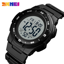SKMEI 1423 Outdoor Sport Watch Luxury Brand Fashion Multifunction Stop  Dual Time 5Bar Waterproof Man Digital