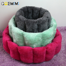 Winter Warm Cat Cave House Pet Bed Dog Lovely Soft Suitable Cushion Sleeping Nest Kennel