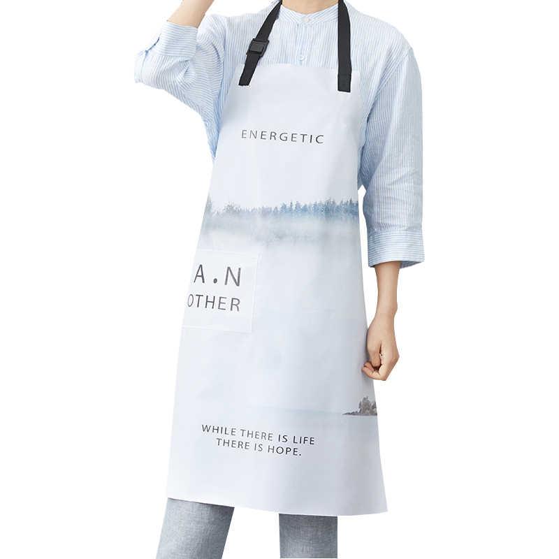 Senyue nueva cocina restaurante trabajo delantal Antifouling Chef cocina delantal para mujer hombres cafetería barbacoa peluquería Bar