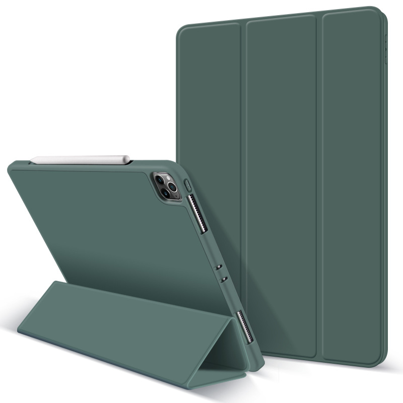 Купить с кэшбэком ZVRUA Case for iPad Pro 11 2020, Ultra Slim PU Leather Smart Cover Soft Funda for New iPad Pro 11 inch 2nd Gen Case