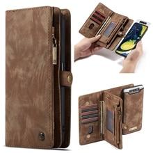 Luxury Leather Flip Case for Samsung Galaxy A20 A30 A40 Wall