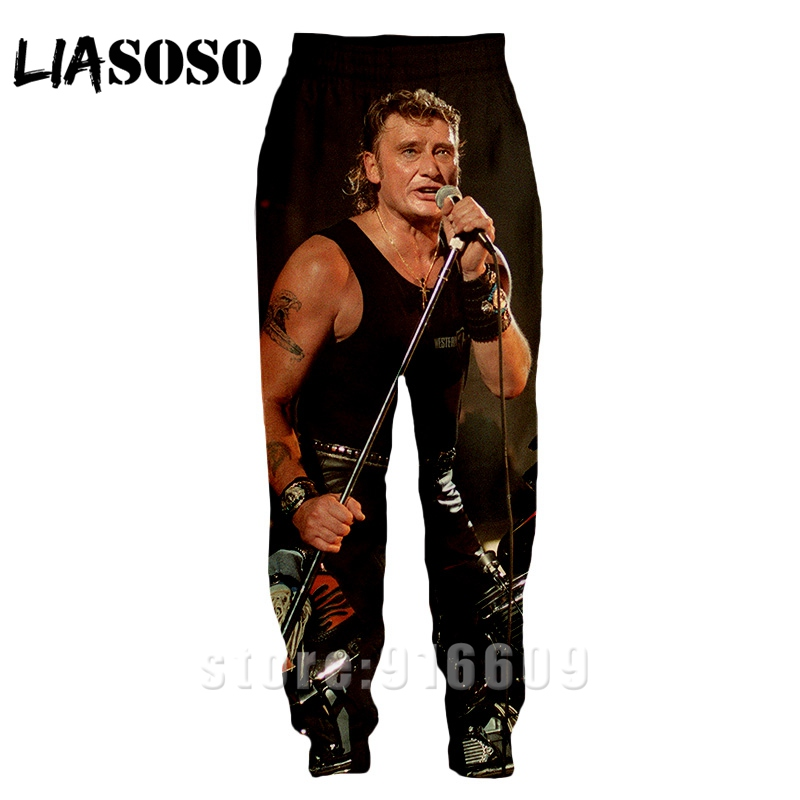 Jogger Trousers Sweatpants Johnny Harajuku Anime Winter Fashion A182 3d-Print Hallyday