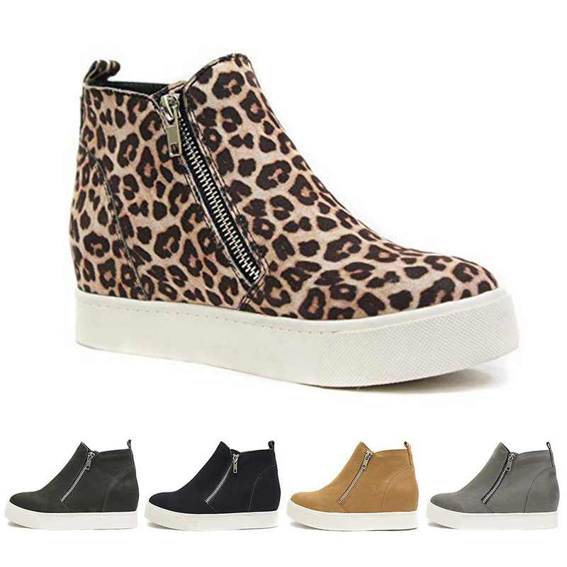 Litthing zapatillas de deporte para mujer, zapatos planos, 2019 para mujer, zapatos planos, plataforma, Primavera, parte superior, deslizantes, transpirables