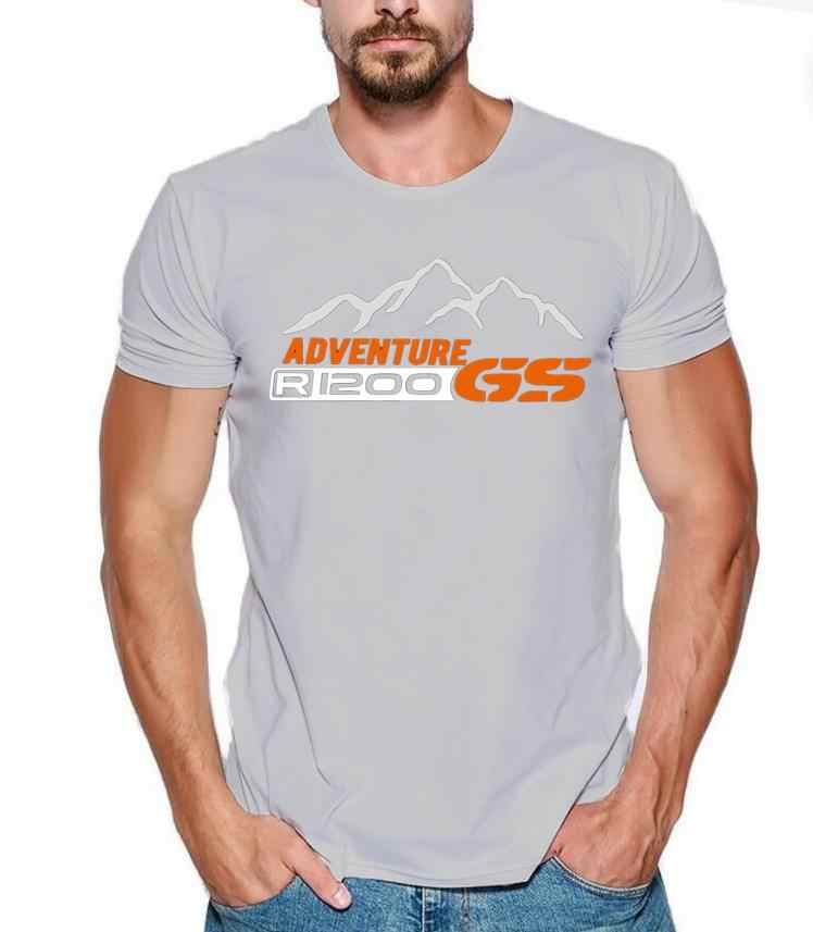 Brand Designer Summer Fashion men t-shirt 1200 GS T-S Adventure Moto black tee shirt cotton Mercedes F1 Subaru casual tops