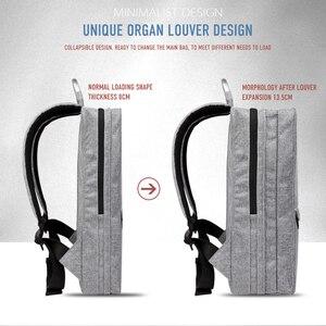 Image 5 - CAI sac à dos étanche grande capacité pour hommes et femmes, sac à dos pour école, Business, voyage, mode sac à dos pour ordinateur portable