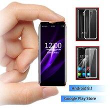 4G Карманный смартфон K-touch i10 3,5 дюймов изогнутый экран мобильный телефон Android 8,1 Лицо ID роскошный мобильный телефон Google Play магазин
